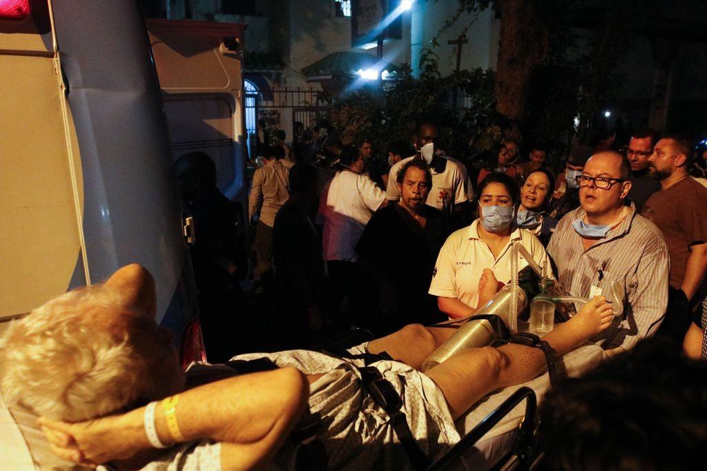 Incêndio em hospital deixa onze mortos (3)