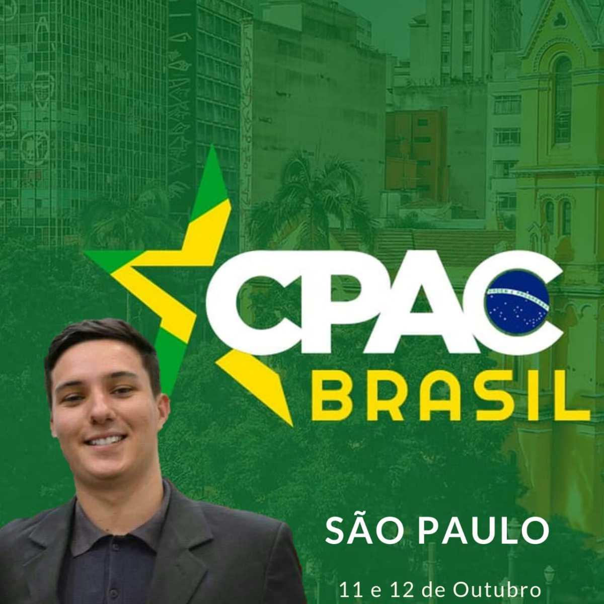 Jovem de Rio Paranaíba participará do 'maior evento conservador do mundo'