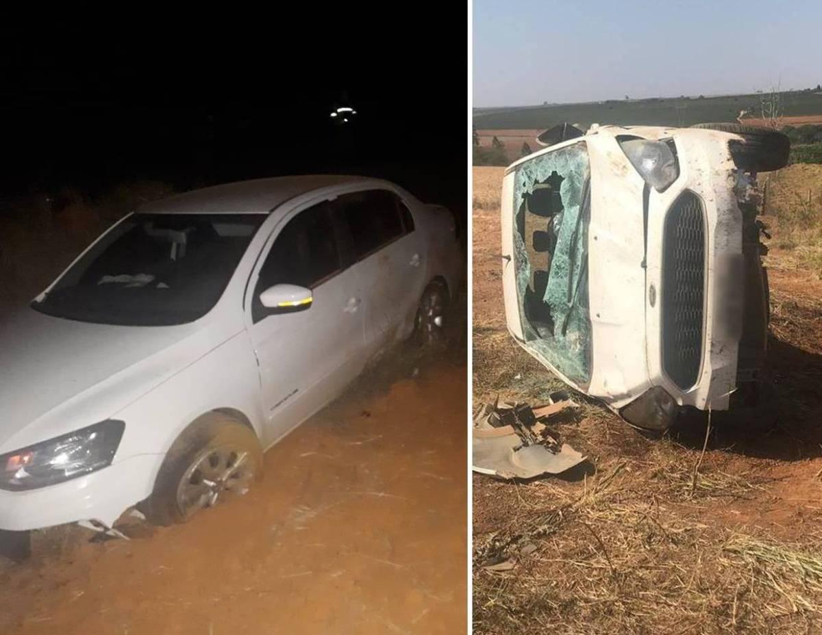 Motoristas se envolvem em dois acidentes em Rio Paranaíba-MG