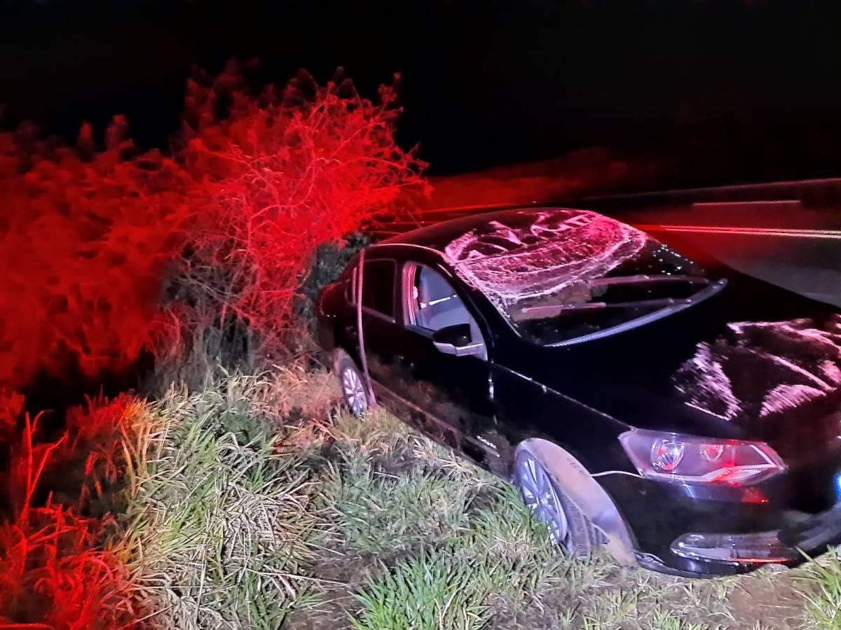 Acidente é registrado na BR-146 em Serra do Salitre