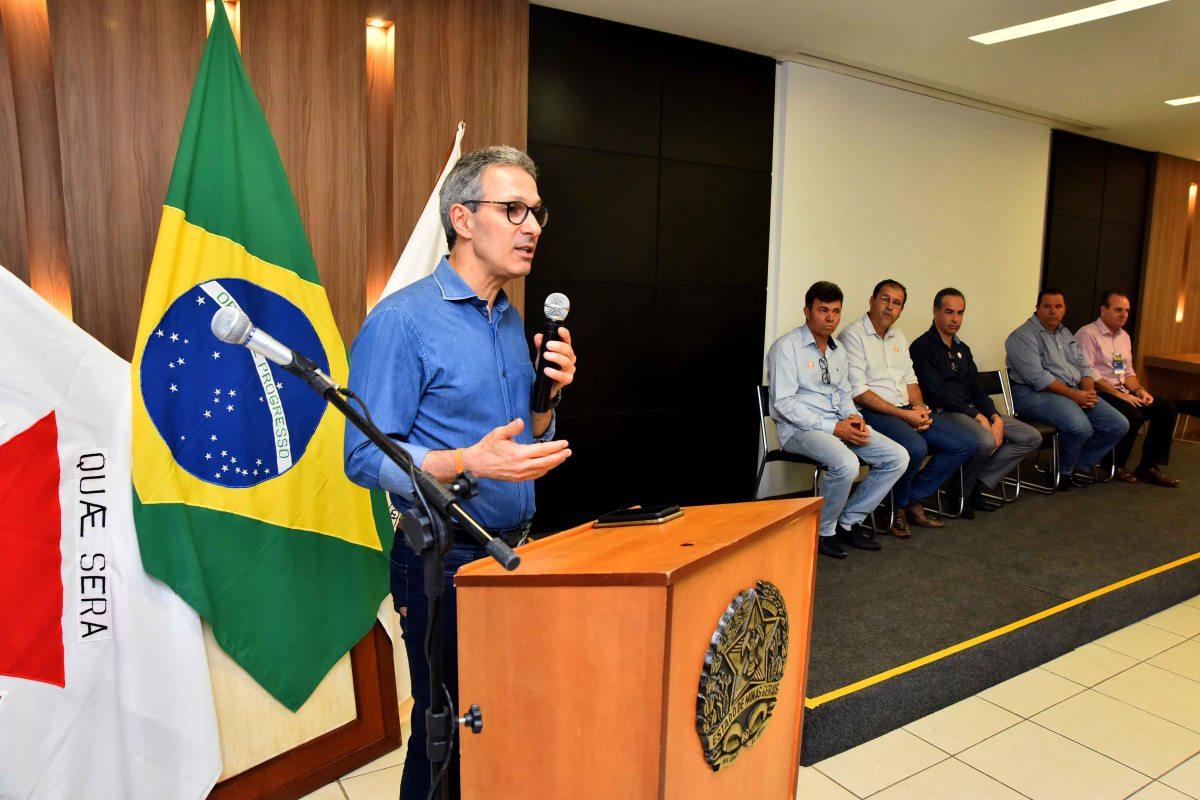 Rodrigo Maia e Romeu Zema visitam Patrocínio-MG