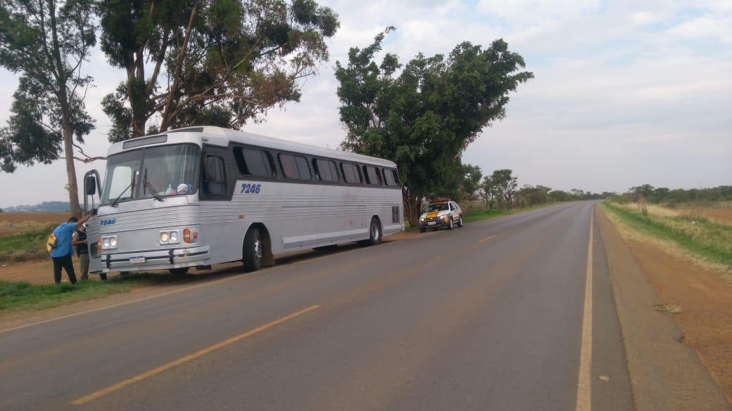 Transporte Clandestino Ônibus é apreendido em Rio Paranaíba