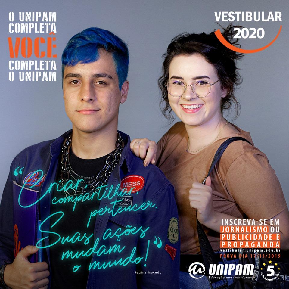 Vestibular UNIPAM - Jornalismo e Publicidade e Propaganda