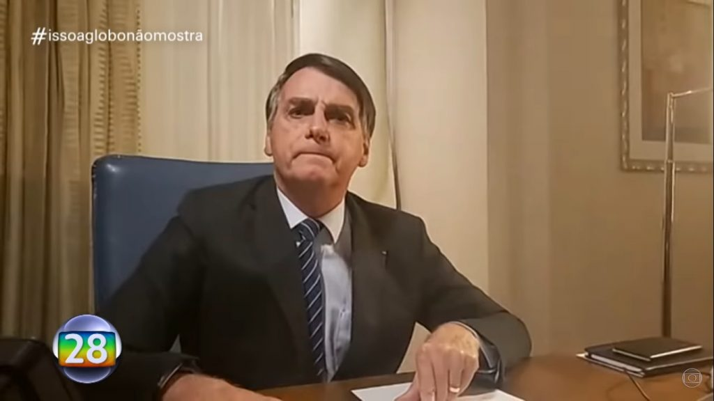 Bolsonaro obcecado pela Globo