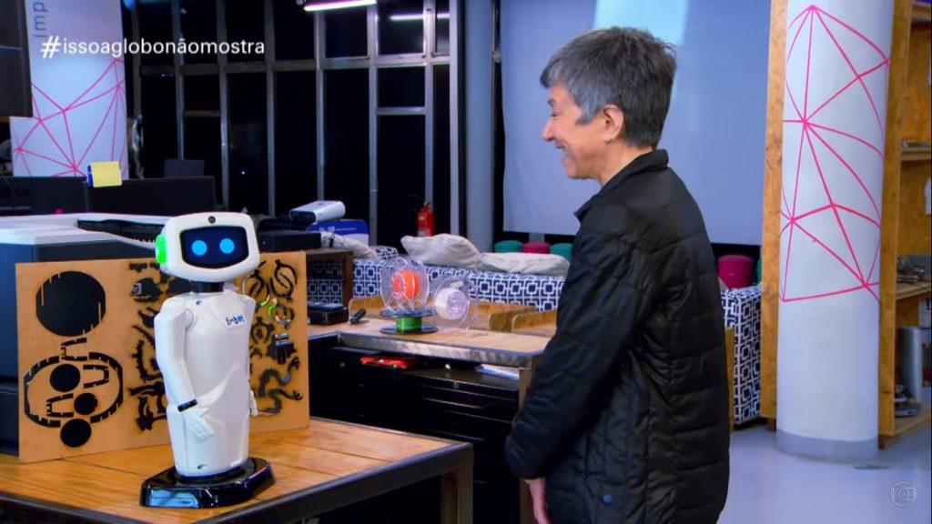 Bolsonaro robô Isso a Globo Não Mostra