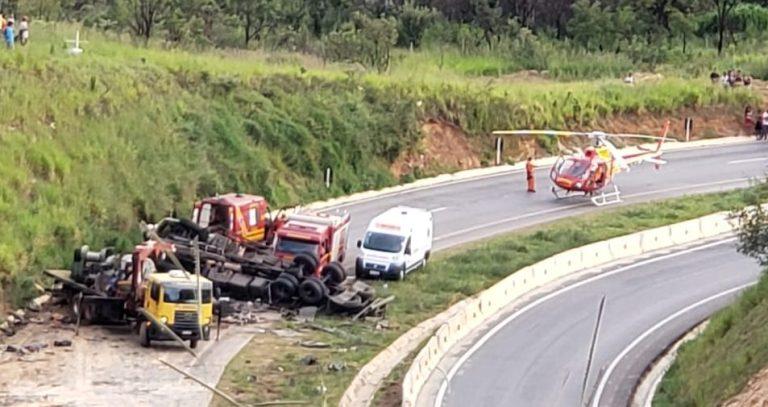 Acidente BR 146 em Serra do Salitre