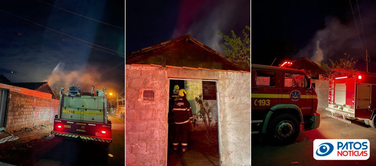 Colocaram fogo na casa do suspeito de matar menina em Araguari