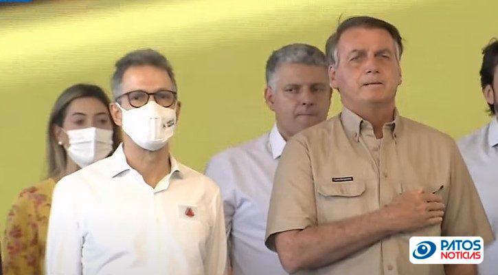 Romeu Zema e Jair Bolsonaro