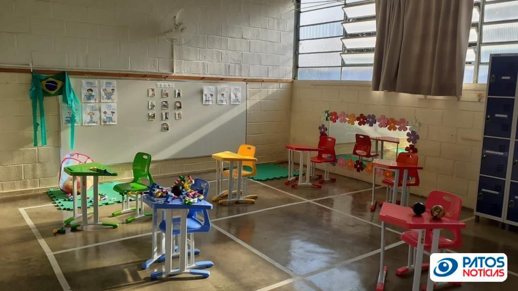 Sala de Aula - Patos de Minas
