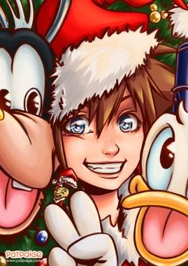 Kingdom Hearts Xmas