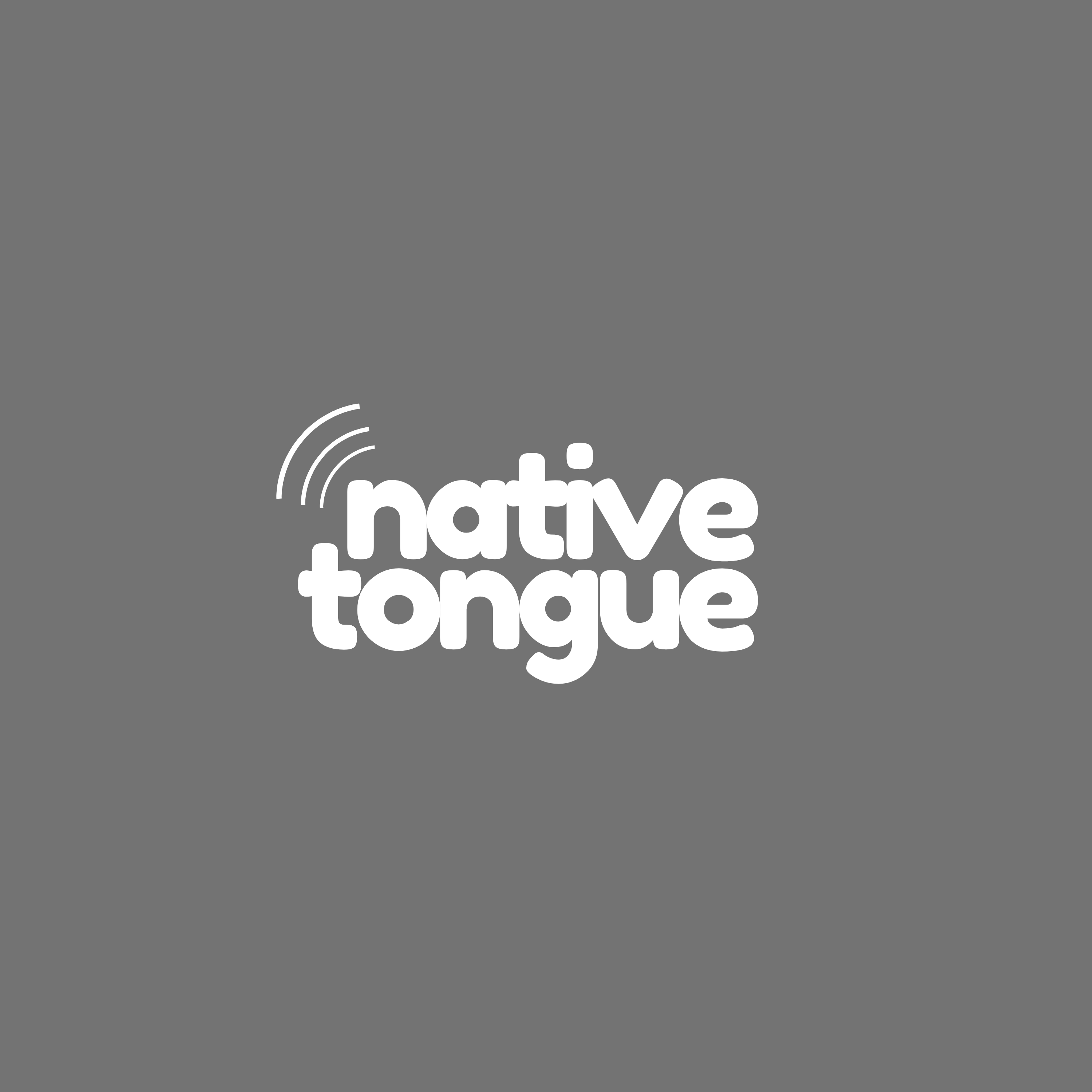 how to be an ally: native tongue logo