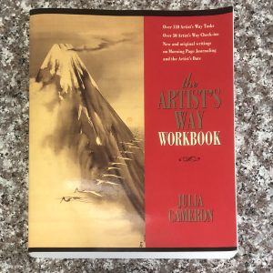 paperback book: the artist's way workbook