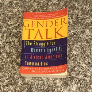 paperback book: gender talk