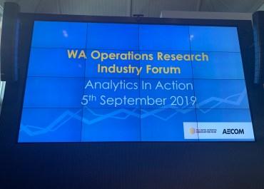 "RailSmart presented at ""Data Analytics in Action"" event"
