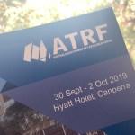 PATREC Researchers Present Work at Australasian Transportation Research Forum