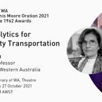 "Associate Professor Doina Olaru to present on ""Data Analytics for Smart City Transportation"""