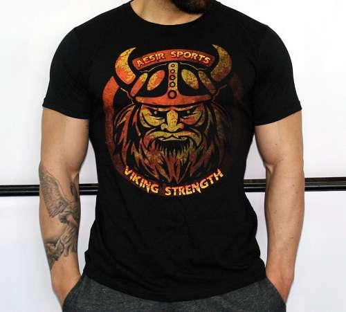 Aesir Sports Slim Fit T-Shirt - Viking Strength