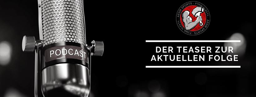 Der Teaser zur aktuellen Aesir Sports Podcast Folge