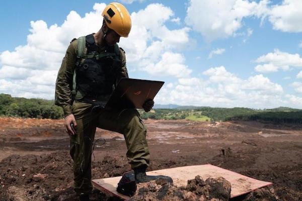 Tecnologia de Israel já retirou 15 corpos da lama em Brumadinho