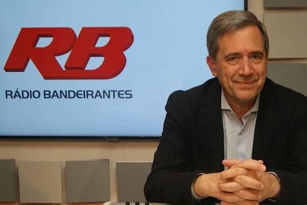 Marco Antonio Villa estreia na Rádio Bandeirantes e internautas lançam tag #BandLixo