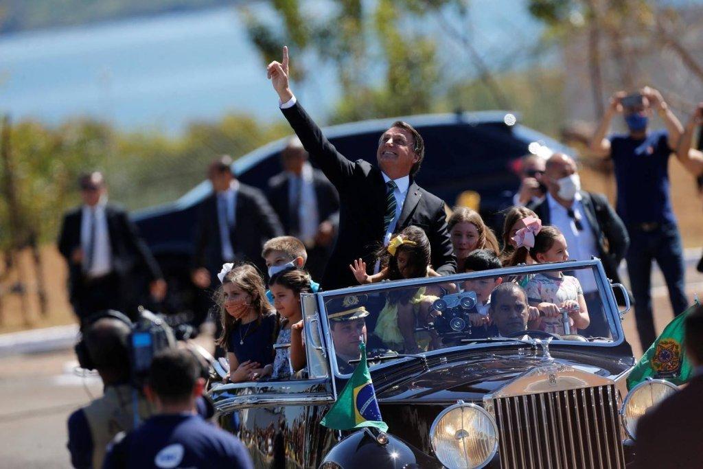 Bolsonaro enaltece o Brasil e os Brasileiros no Dia da Independência