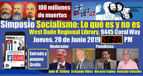Invitacion al Simposio Socialismo lo que es y no es