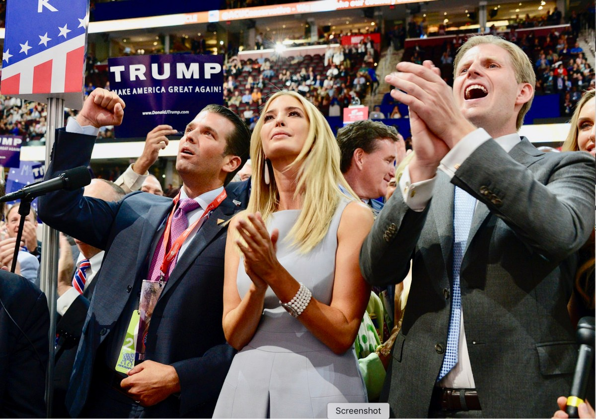 Exclusive: Donald Trump Jr, Eric Trump, Ivanka Trump, Jared Kushner All Indicted