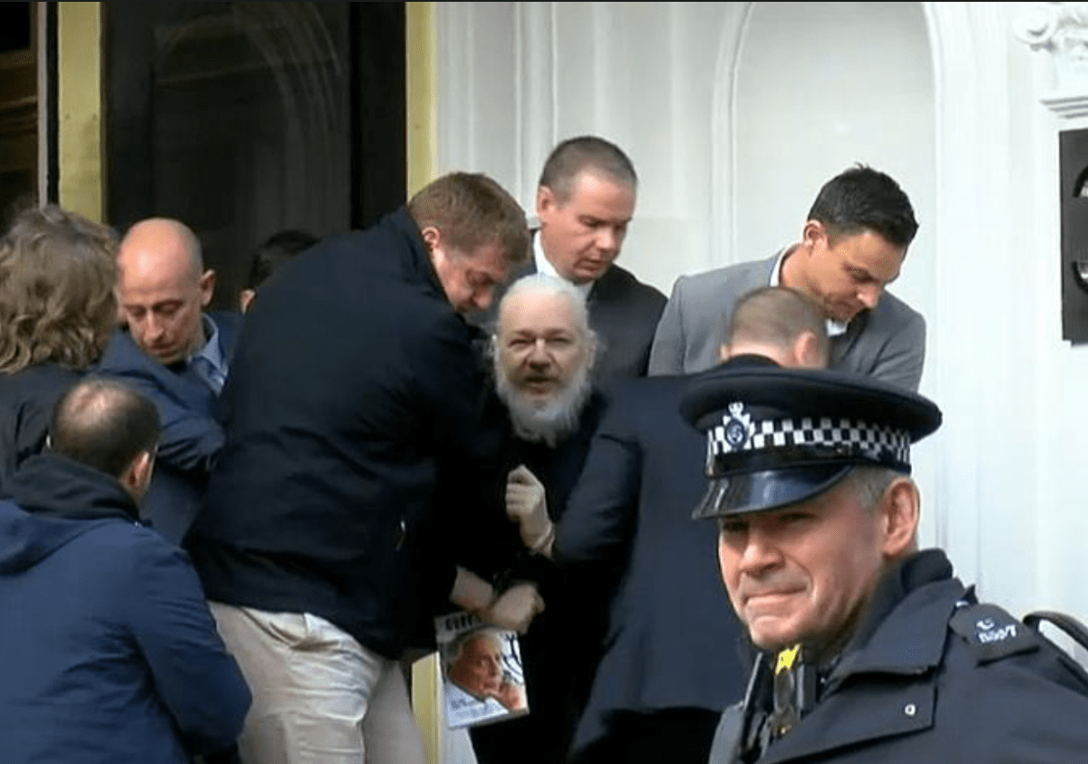 Julian Assange's Extradition is Key to Convicting Trump