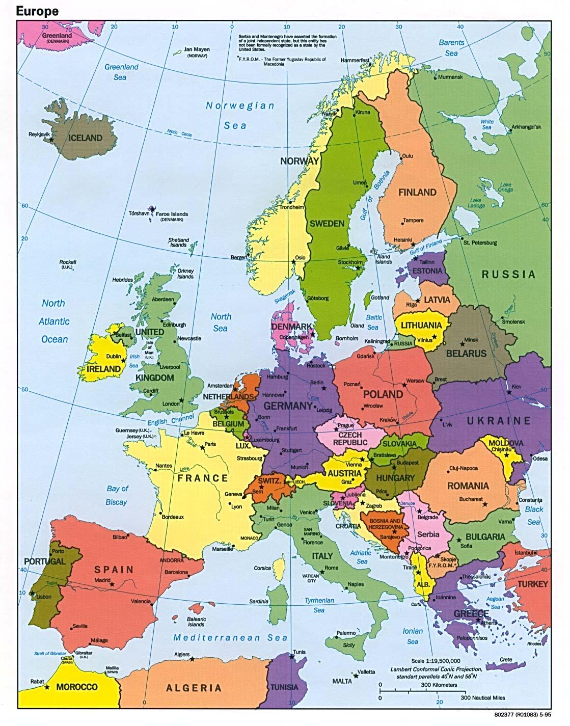 Europe Dawn Amp Lesson