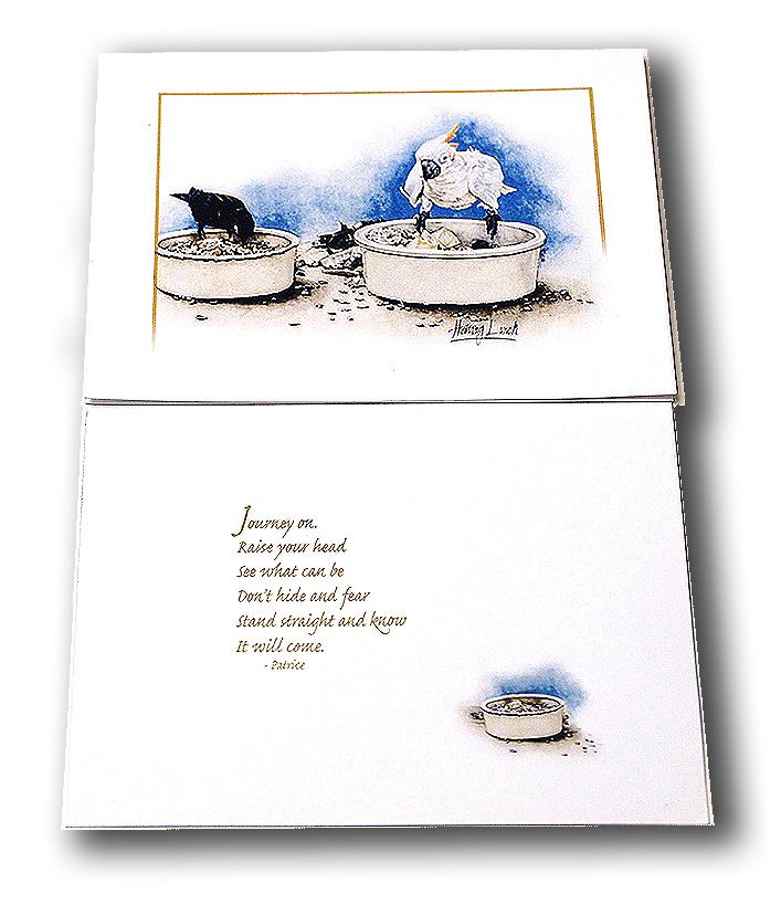 journey on art/affirmation card