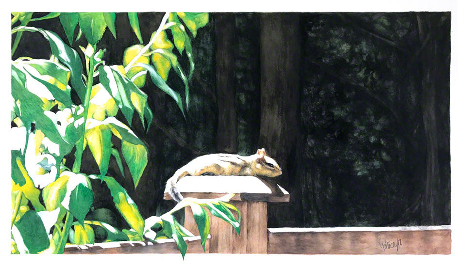 Lazy Summer Days ~ Watercolour Art by Patrice