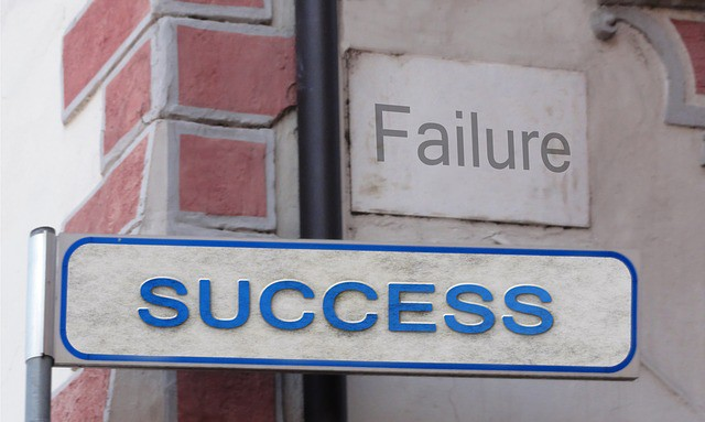 How you handle Failure will eventually lead to success