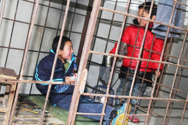 ADHD child Caged by Father ruined neighbor's Possessions