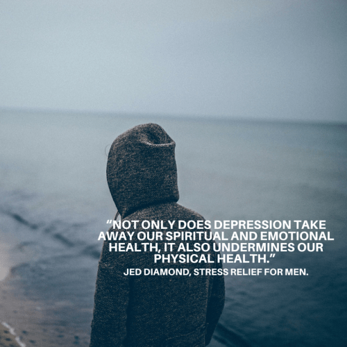 """""""not only does depression take away our"""