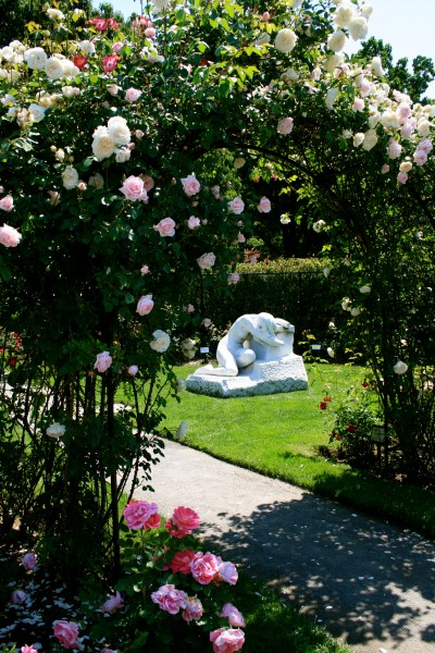 rose garden Two Boston Rose Gardens | Landscape Notes