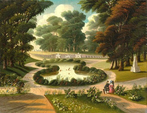Thomas Chambers (1808-1869). Mount Auburn Cemetery. National Gallery of Art.