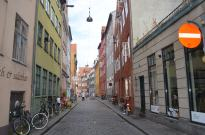 Having a walk-about near the Strøget.