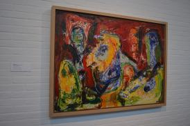 One of my favorite paintings at Louisiana by Danish painter Asger Jorn.