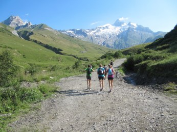 Heading out of Les Chapieux.