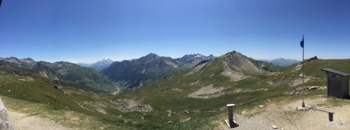 The view from the Col de la Croix du Bonhomme