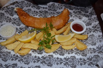 And the classic Fish n Chips.