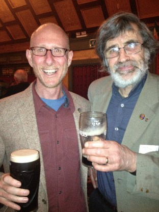 A guinness with Bob the Episcopalian Priest