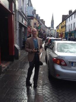 John in Ireland.