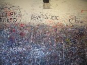 Juliet's wall.
