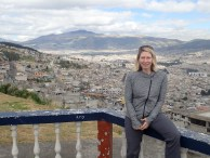 A scenic look out over Quito.