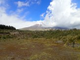Cotopaxi from the museum.