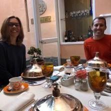Lovely breakfast with Lori and Joe.