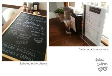 Letterinng Bar 'La Terrazuca'