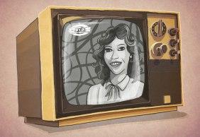 Caderneta de Cromos - TV a preto e Branco