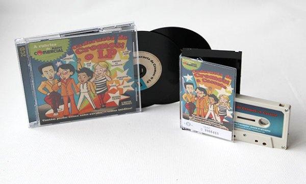 Caderneta de Cromos - Compilation CD